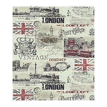 Lutece Papier Peint Londres Carte Postale Vintage 51135407 Amazon