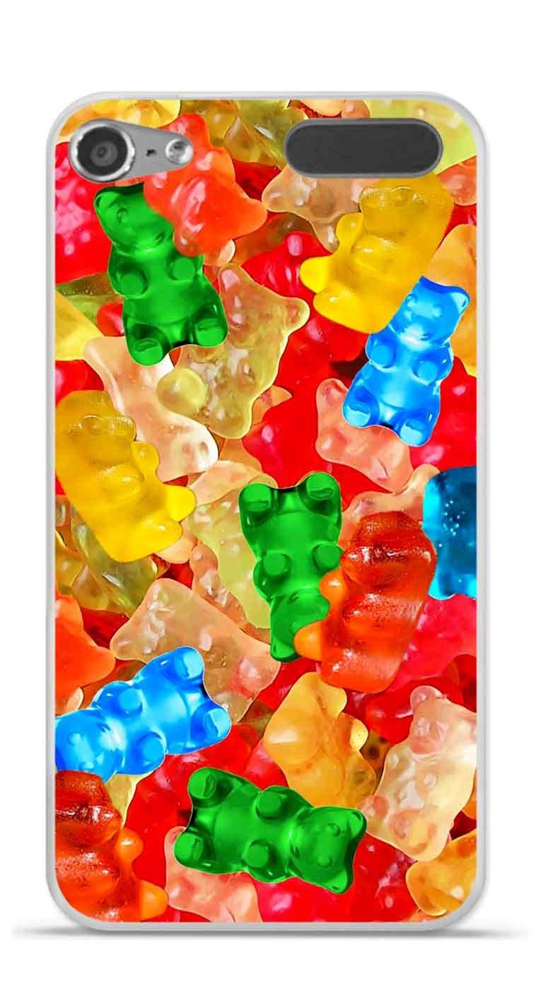 Onozo Coque TPU Gel Souple Apple Ipod Touch 5//6 Design Bonbons Nounours Multicolores