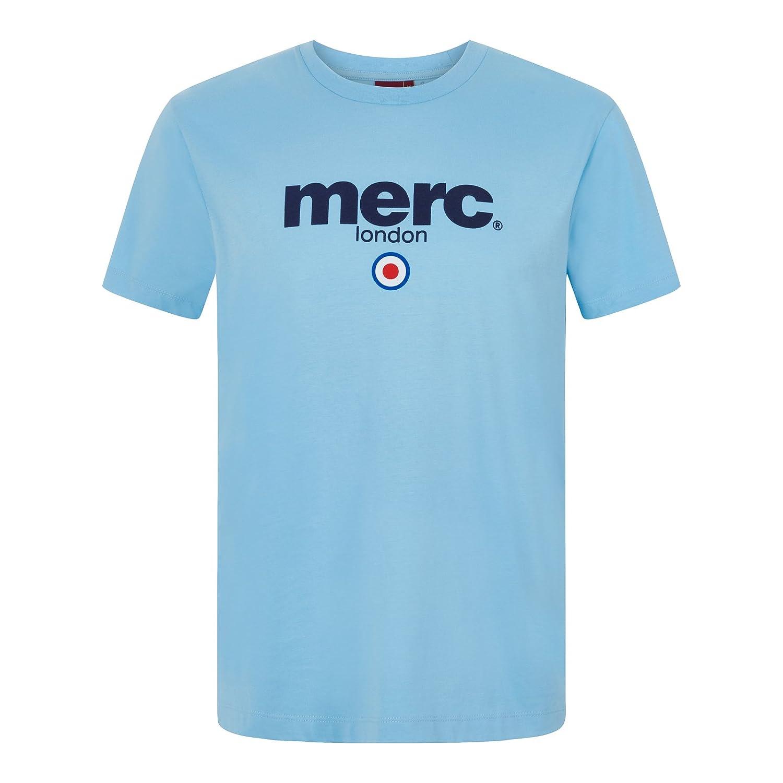Merc of London Brighton Camiseta, Azul (Sky), XXL para Hombre: Amazon.es: Ropa y accesorios