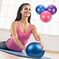 Luckycyc Small Yoga Ball Mini Stability Ball for Strengthening Core Exercises Abdominal Workouts Explosion-proof PVC