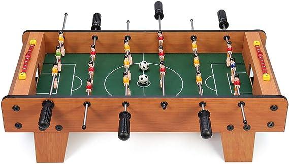 LAS Juego de 6 Varillas de futbolín para 2 Jugadores de fútbol ...