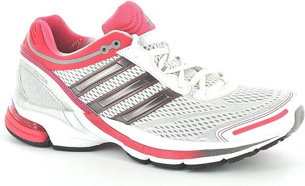 adidas, Mujer Zapatillas para Correr - Running White//Fresco Fucsia, Mujer, UK 9 (43 1/3): Amazon.es: Zapatos y complementos