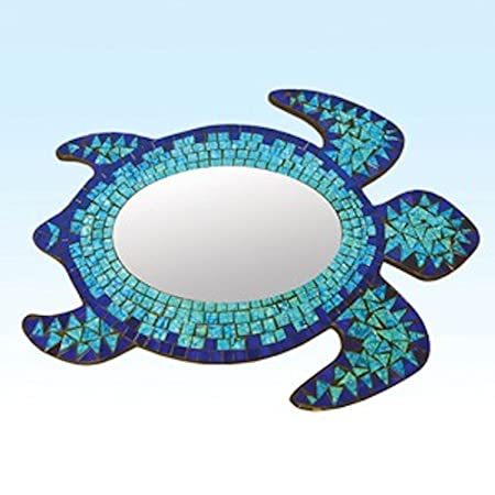 Beachcombers SS-BCS-03537 Mosaic Sea Turtle Mirror