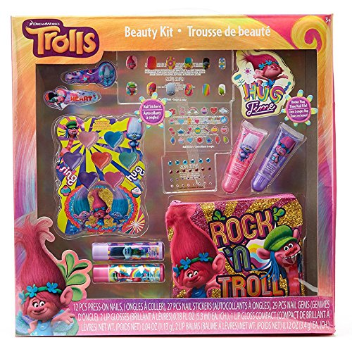 Price comparison product image Dreamworks Trolls Dress Up with Poppy Cosmetic Beauty Gift Set