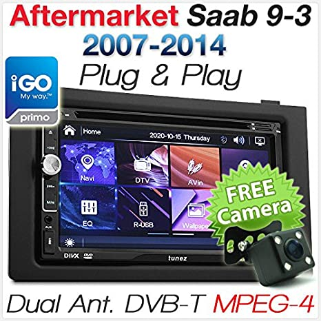 "Saab 9 – 3 Coche 7"" GPS DVD MP3 Player Digital TV Estéreo Radio Unidad"