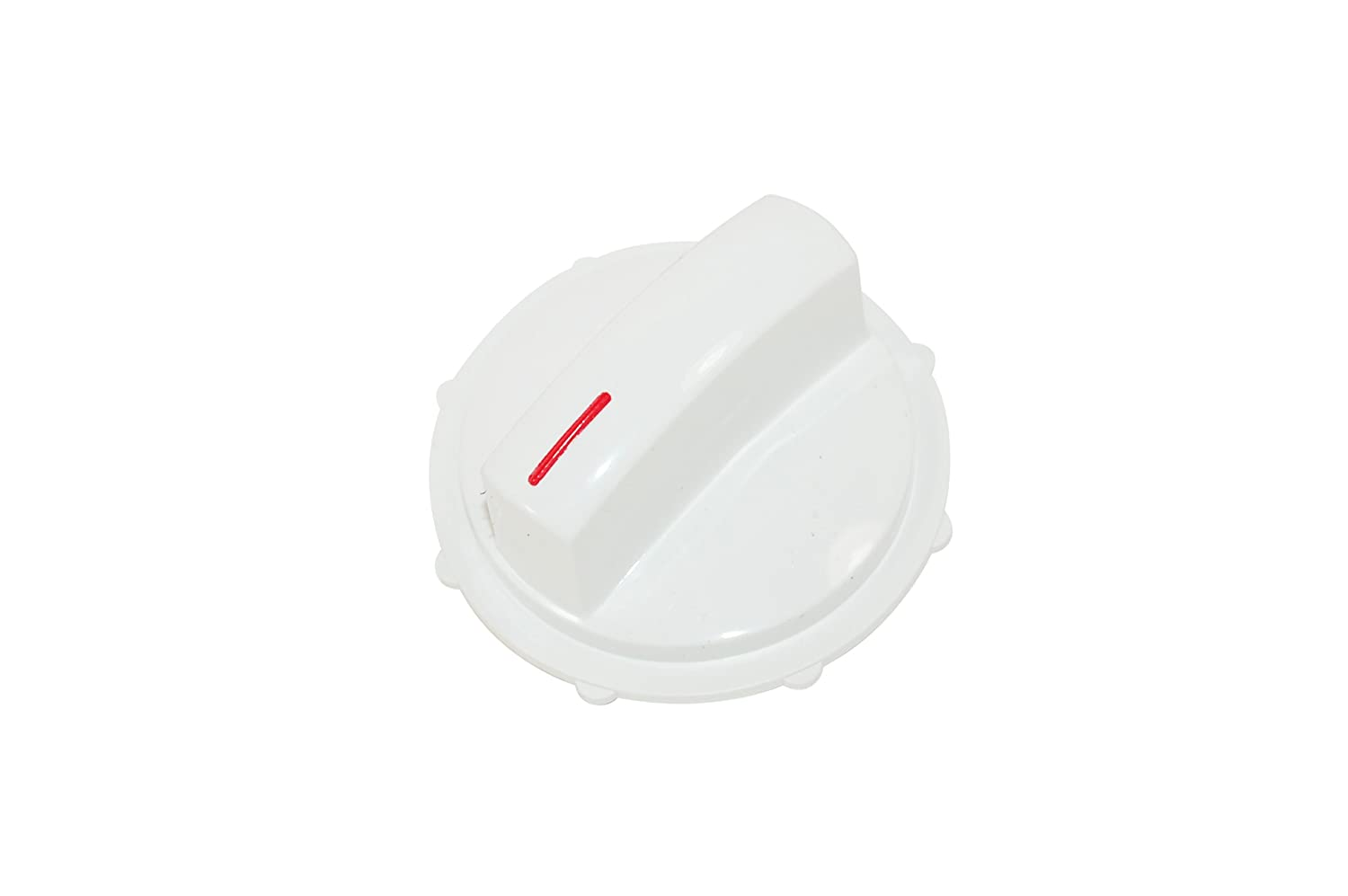 Bosch Tumble Dryer White Control Knob. Genuine part number 604440