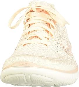 Nike Wmns Free RN Flyknit 2018, Zapatillas de Running para Mujer, Amarillo (Guava Ice/Particle Beige-Sail-Rust Pink 802), 36.5 EU: Amazon.es: Zapatos y complementos