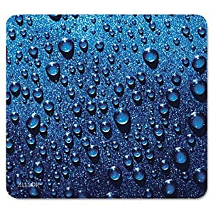 Raindrop Mouse Pad, Blue by ruishername
