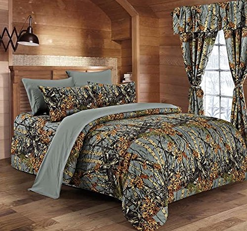 """The Woods"" Gray Licensed Comforter - King"