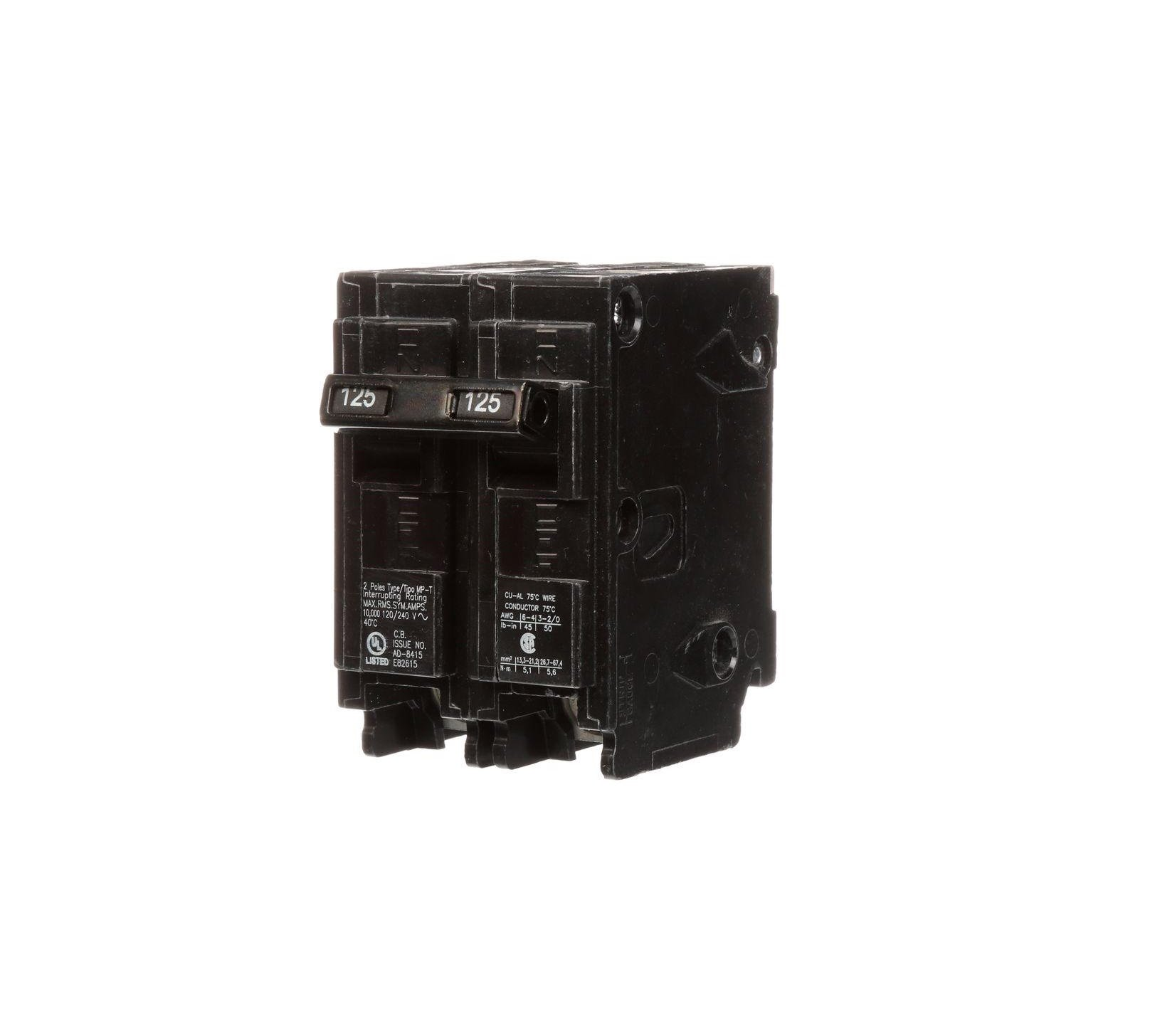 Murray 125 Amp Double-Pole Type MP-T Circuit Breaker-MP2125P by Siemens (Image #1)