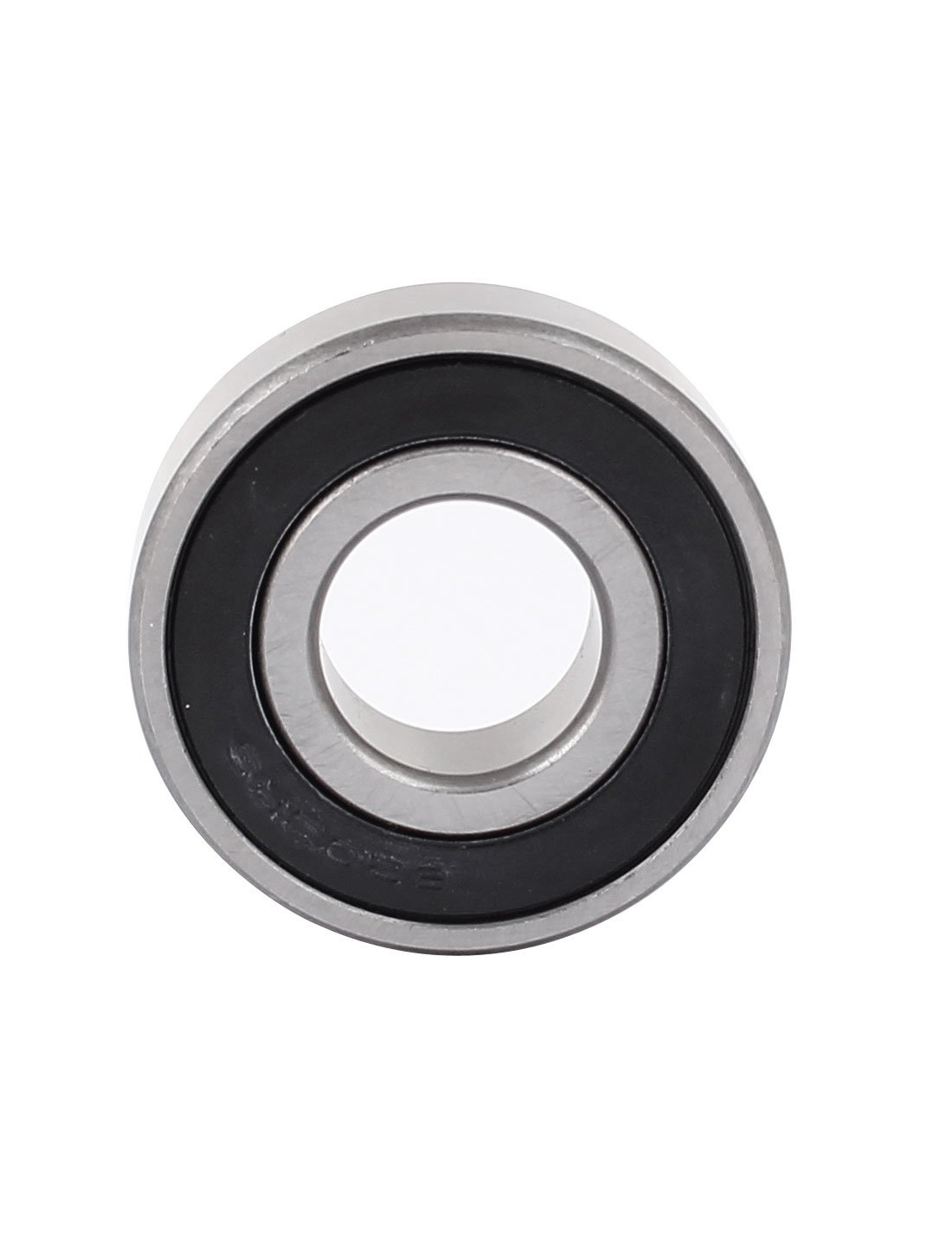 sourcingmap/® 6203-RS Abgeschirmte doppelte seitliche Nut Gummidichtung Ball Kugellager de
