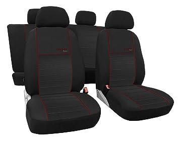 Graue Sitzbezüge für KIA VENGA Autositzbezug VORNE