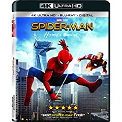 Spider-Man: Homecoming on Digital Sept. 26 and 4K, 3D, Blu-ray, DVD Oct. 17 from Sony Pictures