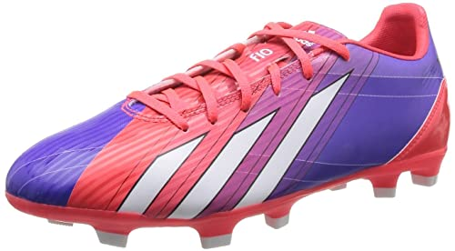 Adidas F10 TRX FG Messi Mens Soccer Boots Cleats - Multi Colour-Purple- e4bce69b6aa