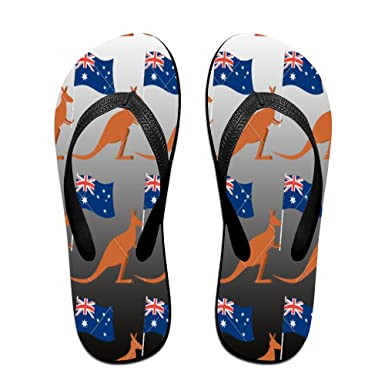 cdff0262315 Image Unavailable. Image not available for. Color  Z-YY Kangaroo Hand In Australian  Flag Women s Men s ...