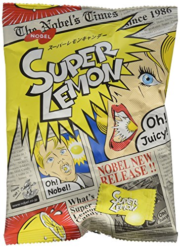 Nobel Super Lemon Hard Candy - 2.6 Oz