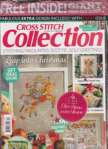 Cross Stitch Collection Magazine - Cross Stitch Collection Magazine October 2016
