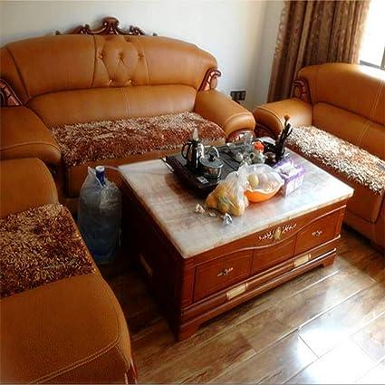 Amazon.com: WJX&Likerr Plush Sofa mat,European Sofa Cushion ...