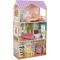 KidKraft 65959 Poppy Dollhouse, Multicolor