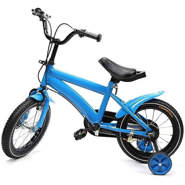 Shioucy - Bicicleta infantil de 14 pulgadas, para niños y niñas ...