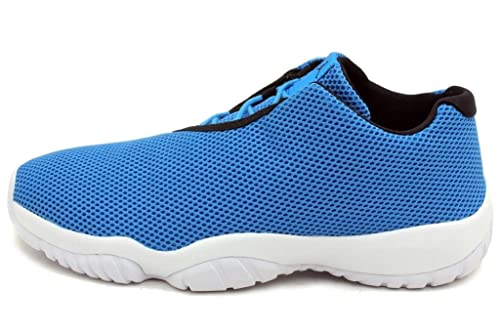 32bb74f5558fa Nike air Jordan Future Low Mens Trainers 718948 Sneakers Shoes (UK 6.5 US  7.5 EU 40.5, Photo Blue Black White 400)