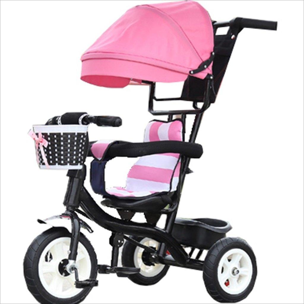 子供の屋内屋外の小さな三輪車自転車の男の子の自転車6ヶ月6歳の赤ちゃんの三輪車の女の子の自転車三輪トロリー天井、ゴムホイール (色 : 10) B07DVCY2MY 10 10