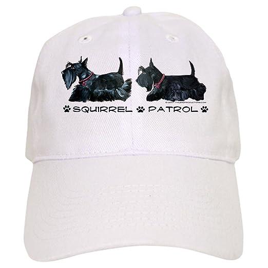 8241a683c14 CafePress - Scottie Squirrel Patrol - Baseball Cap with Adjustable Closure