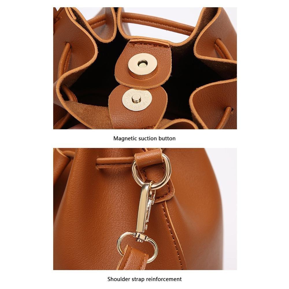 Pawaca Womens Designer Quilted Crossbody Bags Shoulder Bags Satchel Handbags Chain Strap,Fringed Boho Bag Round Leather,Fringe Purse Bohemian Bags,Fringe Tassel Messenger Bag Women Handbag.