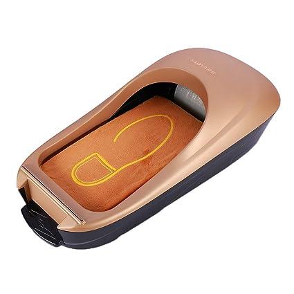 Sharplace Máquina de Cubierta de Zapatos Dispensador de Membrana de Calzados - Oro
