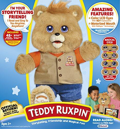 Детская плюшевая игрушка Teddy Ruxpin