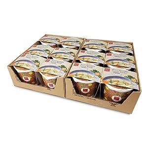 Asianmeals Rice Noodle Soup Bowl Japanese Paitan (Pack of 12), Ramen Noodles, Japanese food, Cup Noodles, Soup Bowl, Pantry Staples, Ramen Noodles Bulk, Asian Food, 3.8oz each