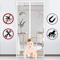 GYUO Puerta Mosquitera para,protección contra Insectos Magnético Cortina