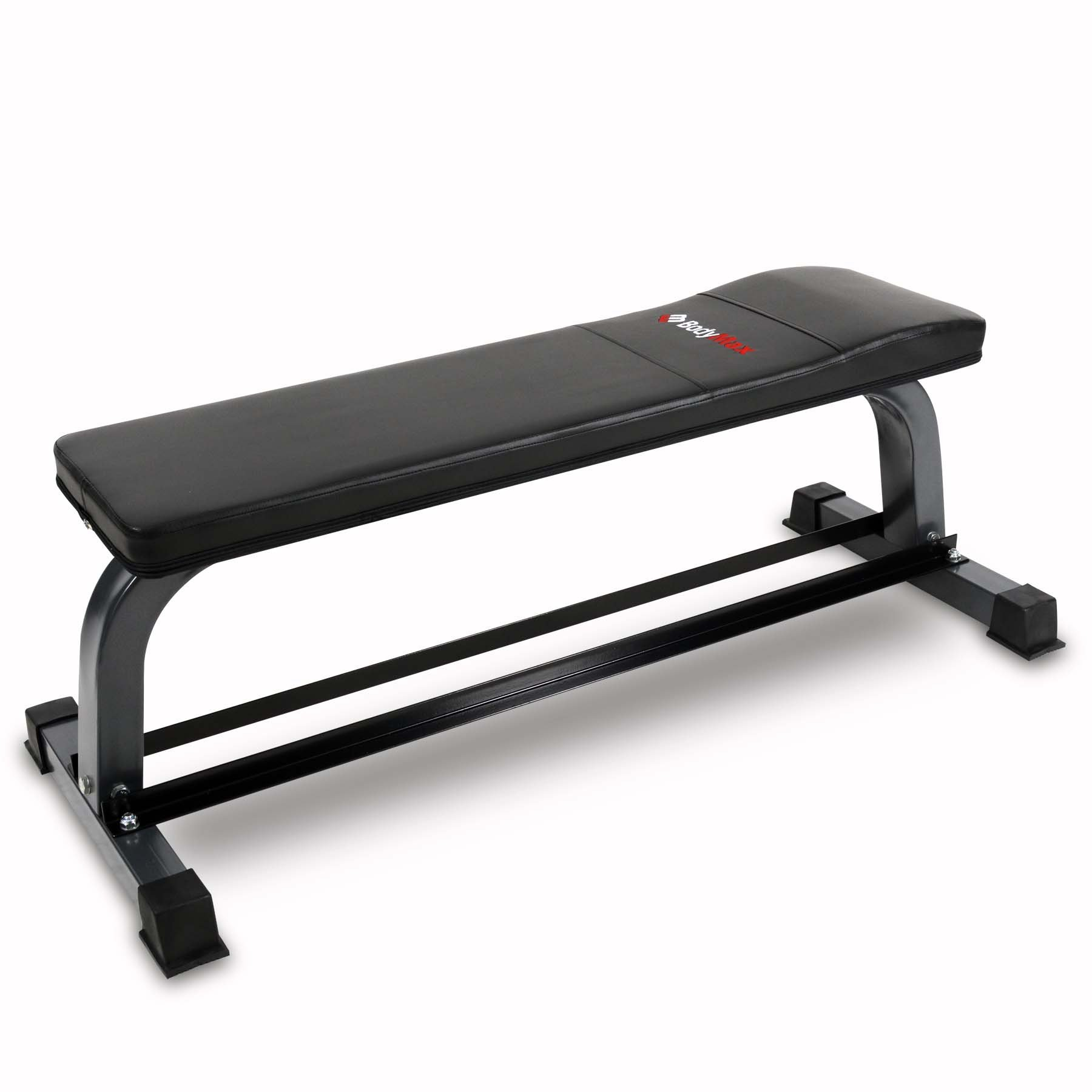 Bodymax CF302 Flat Bench with Dumbbell Rack by Bodymax