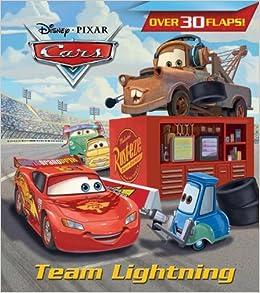 Team Lightning Nif Rh Disney 9780736430524 Amazon Com