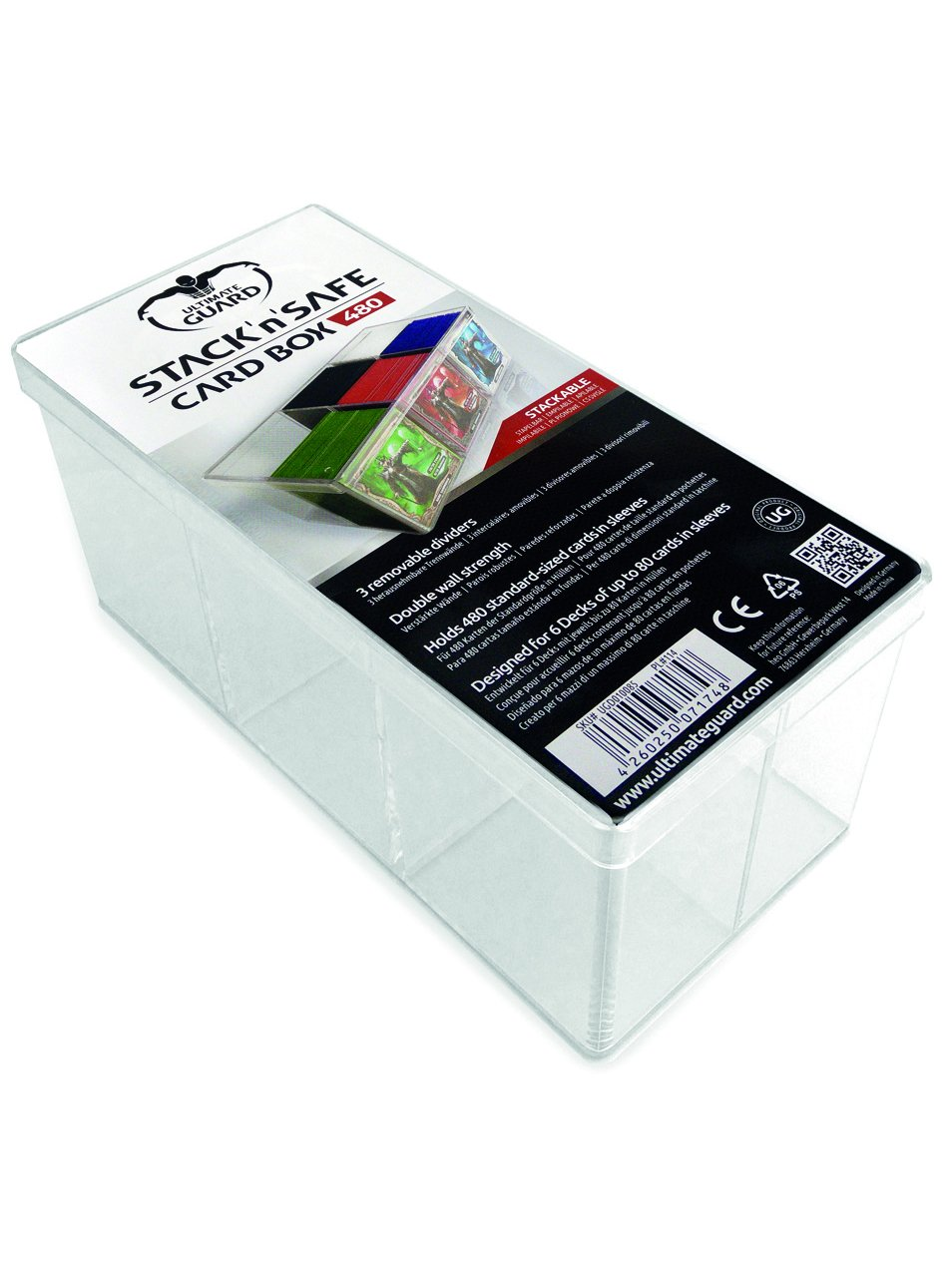 Ultimate Guard Stack 'n' Safe Deck Box (480-Card) UGD010085
