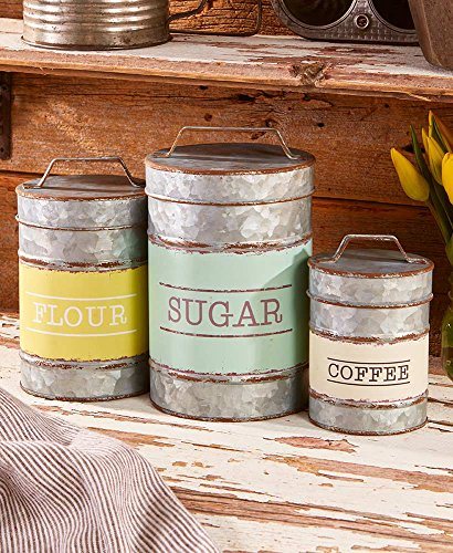 (The Lakeside Collection Classic Country Canister)