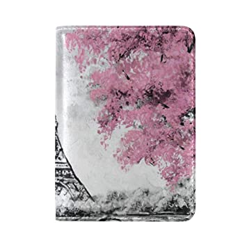 Amazon.com: Art Watercolor Paris Eiffel Tower - Funda de ...