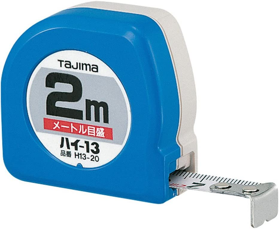 タジマ(Tajima) コンベックス ハイ-13 2m 13mm幅 メートル目盛 H13-20BL