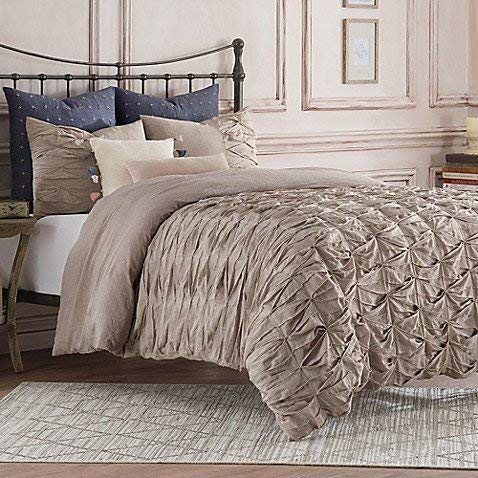 Anthology Kendall Full/Queen Duvet Cover in Oatmeal