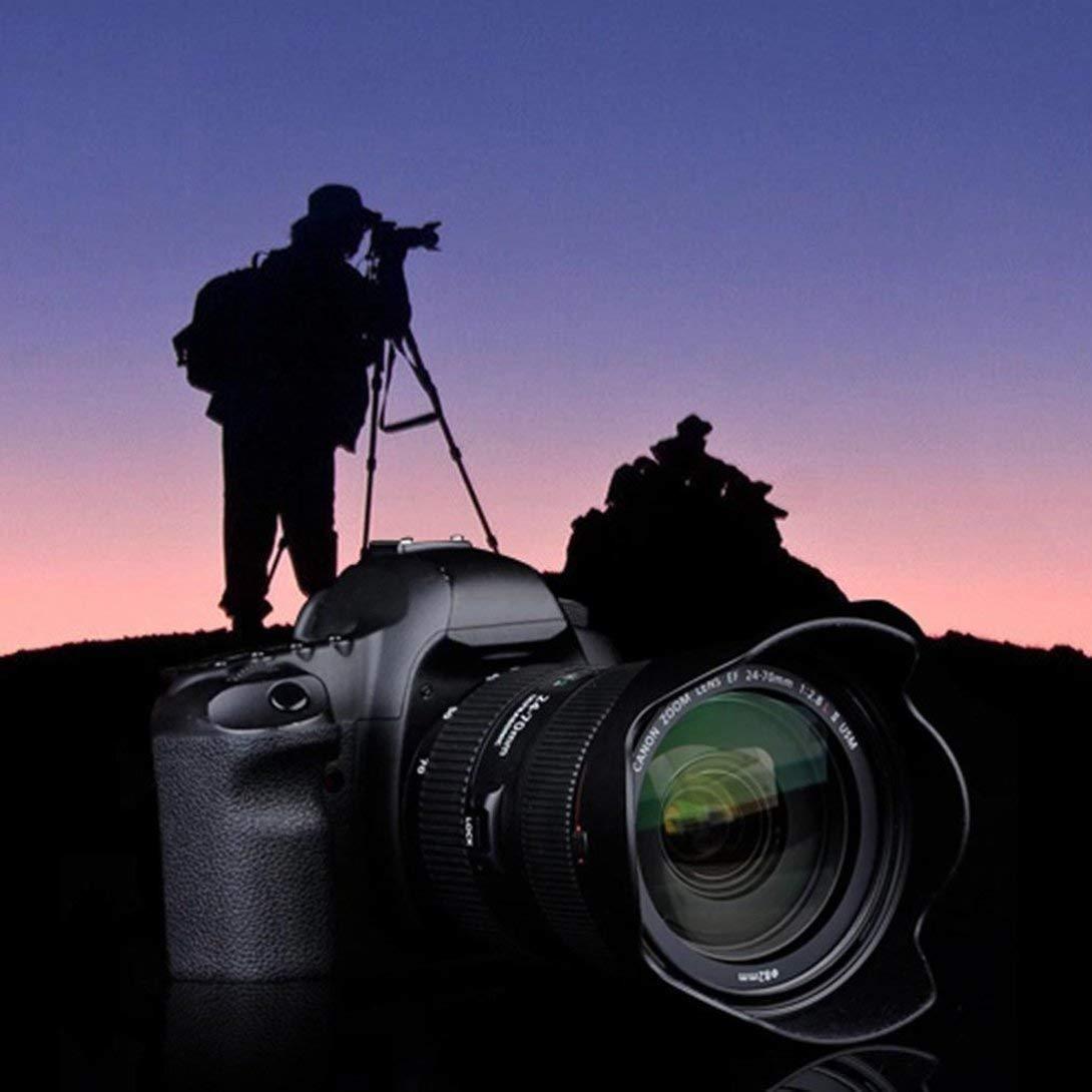 Swiftswan 52mm Digital Tulip Flower Lens Hood for Select Canon