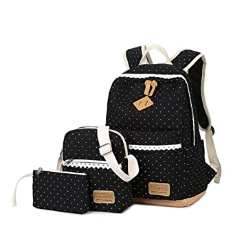 6ec5f21c9ab5 Cute School Backpack for Girls (3 Pieces)