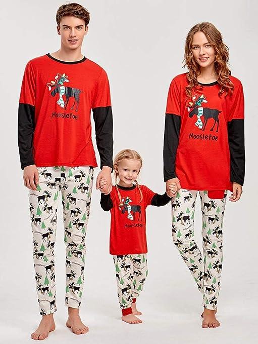 Pijama Navidad Familiar Familia de Navidad a Juego Pijamas Set ...