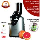Kuvings Professional 240 Watt Cold Press Whole Slow Juicer (B1700) (Dark Silver)