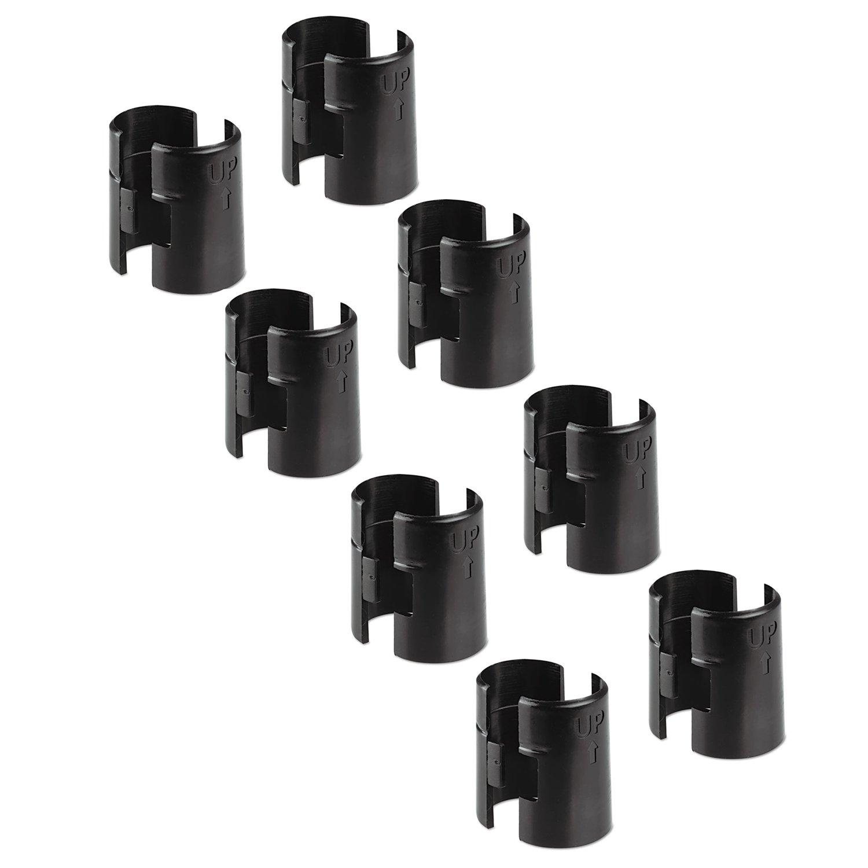 Amazon.com: Alera ALESW59SLBL Wire Shelving Shelf Lock Clips ...
