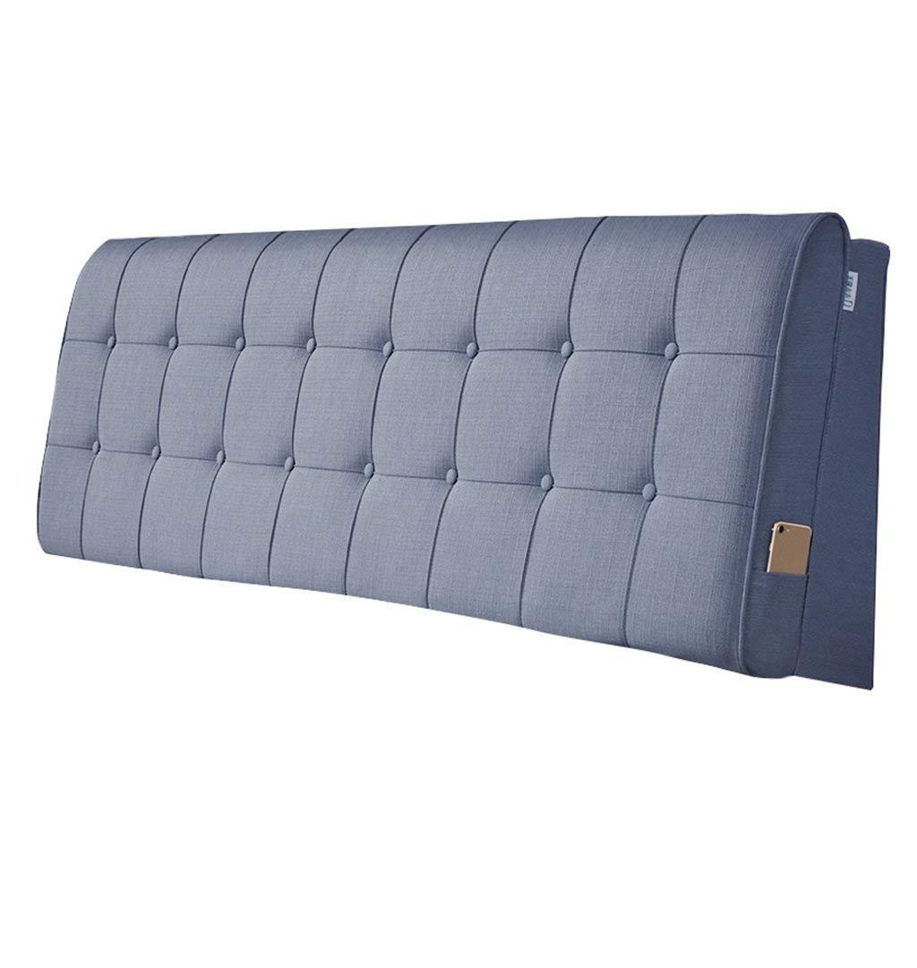 100 %品質保証 WangYn With 枕はベッドサイドのためのあと振れ止めを保護するためにヘッドレストを読むためのあと振れ止めとして使用することができます (Color : Brown, headboard Size : Brown, With headboard 120×60cm) B07MVWD37G With headboard 200×60cm|Blue Blue With headboard 200×60cm, FLASH (オーダーチェーンのお店):9003d7f2 --- arianechie.dominiotemporario.com