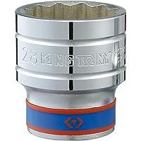 Soquete Estriado 30mm-1/2, KingTony BR, 433030MH