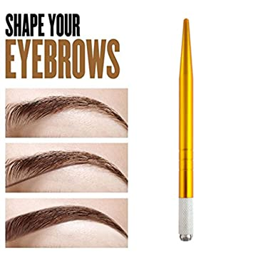 Amazon.com: Pinkiou Hair Stroked Microblading Pen Permanent Makeup ...