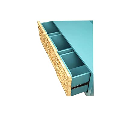 Pictures On Entryway Bench With Storage Turquoise