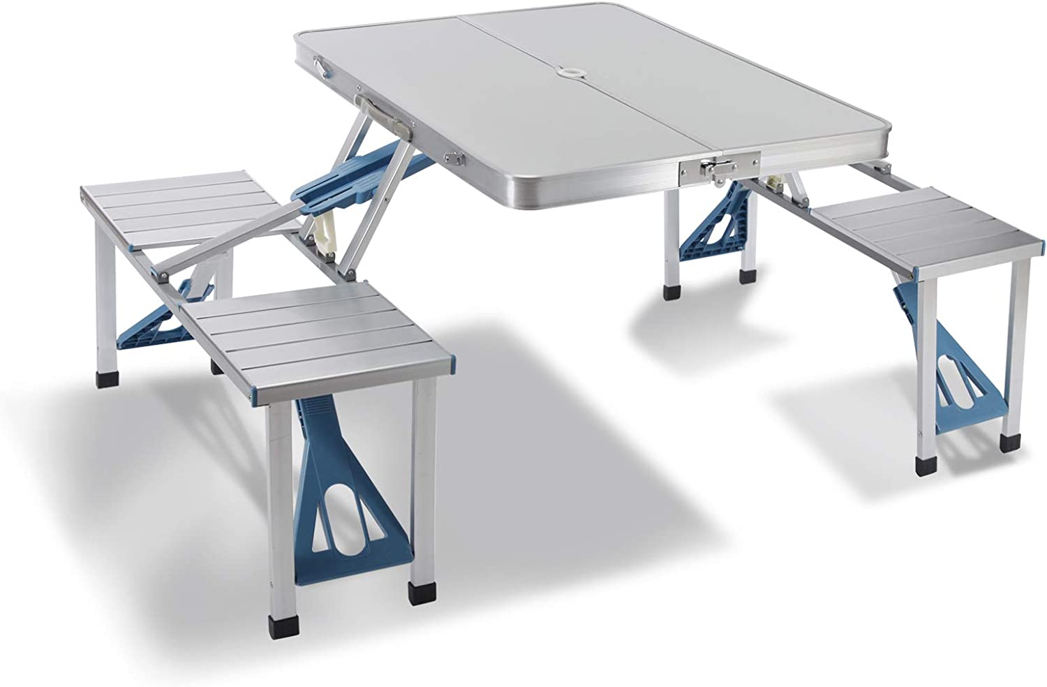 Aluminum Alloy Portable Table Outdoor Foldable Folding Camping Picnic Table