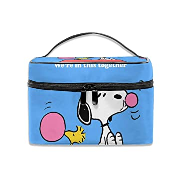 Amazon.com: LCXjj Snoopy - Estuche de maquillaje ...